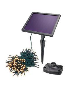 LED-Solar Lichterkette 200 flg. Pro 102570 - 20 m - Akkulaufzeit 10h - produkt