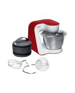 Bosch Küchenmaschine MUM54R00 weiß - rot, 900 Watt