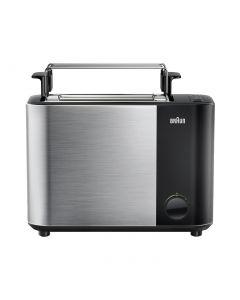 Braun HT5015BK - Toaster - mit geschlossener Sandwichzange - schwarz