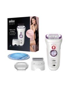 Braun 9-710 Silk-épil SensoSmart - Epilierer - weiß-lila - produkt