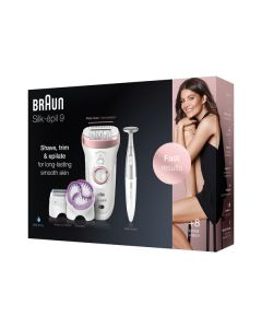 Braun 9-980 Silk-épil SensoSmart SkinSpa - Epilierer - rose-gold - box