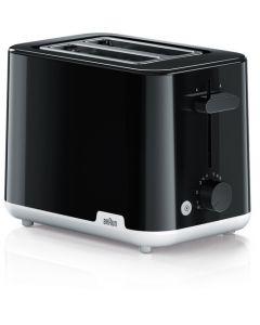 Braun HT 1010 BK - Zweischlitz-Toaster - schwarz