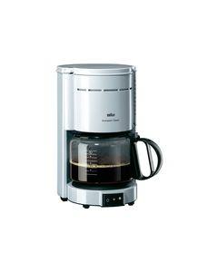 Braun Kaffeemaschine  KF47 Aromaster Plus weiß - produkt