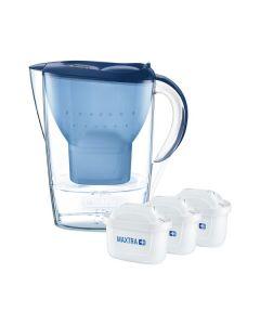 Brita Wasserfilter Marella Cool Starterpaket - blau