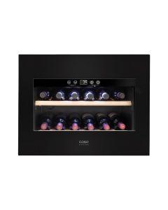 Caso WineDeluxe E18- Einbau-Weintemperierschrank mit Kompressor-Technik - schwarz - produkt