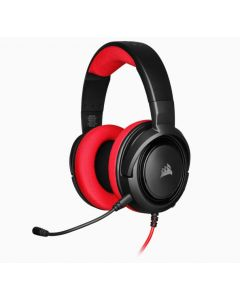 Corsair HS35 Stereo - Gaming Headset - Rot/Schwarz