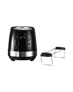 DeLonghi Active Line CTLA 2103.BK - Toaster - schwarz