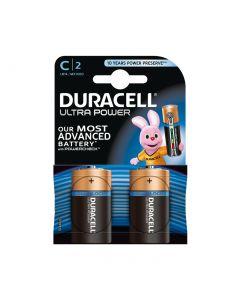 Duracell Ultra Power C Batterien - MN1400/LR14 - 2er Set