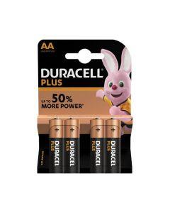 Duracell Plus(Power) AA (MN1500/LR6) K4 - Mignon Batterien Blister - 4er Pack