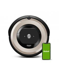iRobot Roomba e5152 - Staubsaugroboter mit App-Steuerung - schwarz-grau - Frontseite