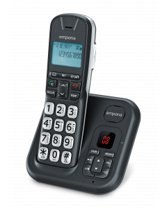 emporia GD61AB - Schnurlostelefon - schwarz - produkt