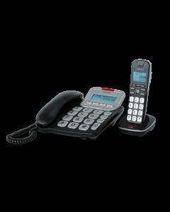 emporia GD61ABB - Festnetztelefon Set mi Schnurlostelefon - schwarz - produkt