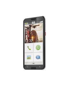 emporia SMART.5 S5 - Android 10.0 Smartphone 5 - vertragsfrei für alle Netze - schwarz