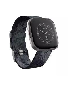 fitbit Versa 2 SE - Gesundheits- und Fitness-Smartwatch - NFC - smoke woven