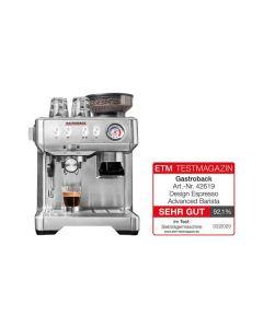 Gastroback Design Espresso Advanced Barista - Siebträgermaschine - silber