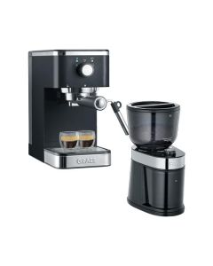 Graef ES402 Salita Set - Siebträgermaschine & CM202 Kaffeemühle im Set - schwarz - produkt