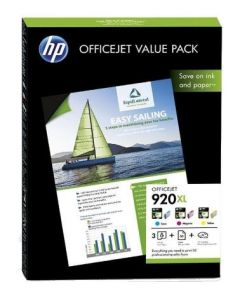 HP 920XL Officejet Value Pack 3-farbig - CH081AE - produkt
