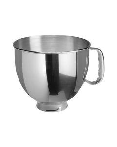 KitchenAid 5K5THSBP - Edelstahlrühschüssel 4,8 Liter - poliert mit Griff - edelstahl - Hauptfoto