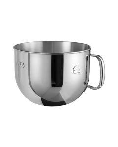 KitchenAid 5KR7SB - Edelstahlrühschüssel 6,9 Liter - poliert mit geschlossenem Griff - edelstahl - Hauptfoto