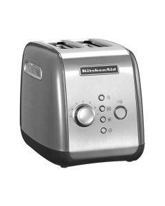 KitchenAid 5KMT221ECL - Toaster - 2 Scheiben - silber