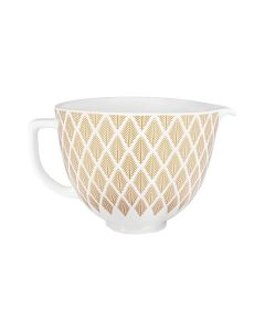 KitchenAid 5KSM2CB5PGC - Keramik-Schüssel - gold conifer