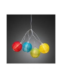 Konstsmide LED Lichterkette Lampions bunt - produkt
