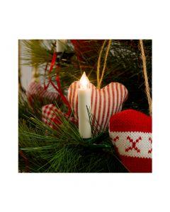 Konstsmide LED Weihnachtskerzen 5er Pack weiß - warmweißes Licht - produkt