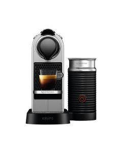 Krups Nespresso XN761B CitiZ & Milk Silber - Nespresso inkl. Aeroccino - silber - produkt
