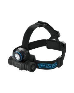 LED Stirnlampe Walther PRO HL11 schwarz-blau - inkl. Batterien