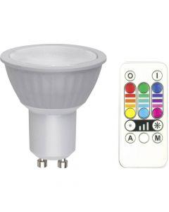 LED EEK B (A++ - E) GU10 Reflektor 3.2 W = 25 W RGB dimmbar, colorchanging, inkl. Fernbedienung 1 St. - LED Lampen - produkt