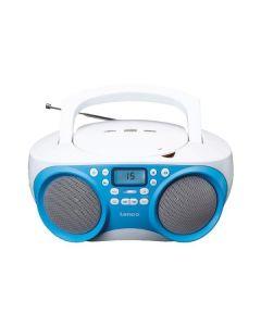 Lenco SCD-301 CD-Radio - MP3 - USB - blau-weiß - produkt