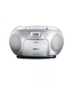 Lenco CD-Kassetten-Radio SCD420CD - silber - produkt