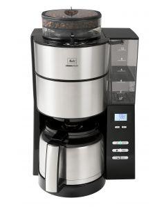 Melitta AromaFresh Therm - Kaffeemaschine mit integriertem Mahlwerk- edelstahl - produkt