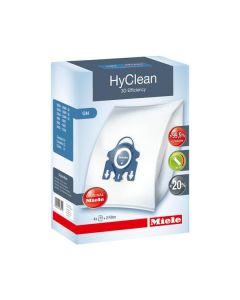 Miele Staubbeutel - HyClean 3D Efficiency G/N - Packung mit 4 Beutel & 2 Filter - blau - produkt