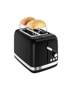 Moulinex LT3018 Soleil - Toaster - schwarz-silber