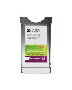 Nabo Cam Cardfree silber - CI+ Modul mit integrierter Micro-Sat-Karte - produkt