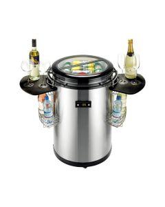 Nabo PC1061 - Minikühlschrank Partykühler - edelstahl - produkt