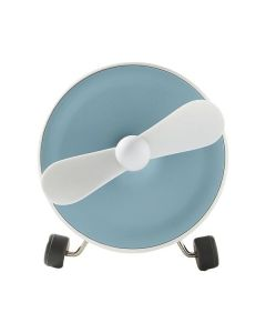 Nabo Sound One - 2-in-1 Akku-Hand-Ventilator & Bluetooth-Speaker - weiß blau - produkt