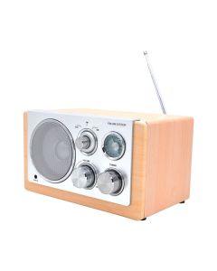 Nabo WR100 - Retro-Tischradio - holz hellbraun - produkt
