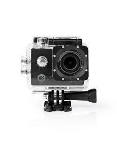 Nedis Action-Kamera - Ultra HD 4K - WLAN - wasserdichtes Gehäuse - schwarz 1