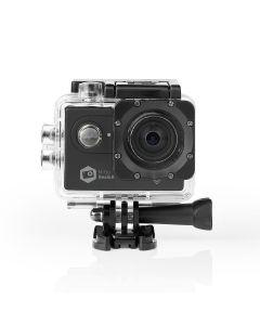 Nedis ACAM61BK Action-Kamera - Ultra HD 4K - WLAN - wasserdichtes Gehäuse - schwarz