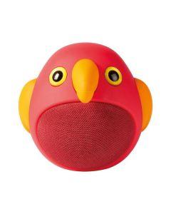 Nedis Animaticks Bluetooth-Speaker Perry Parrot - Bluetooth-Speaker - Vogel rot-gelb - vorne