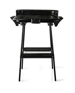 Nedis BBQE111BK - elektrischer Grill mit Ständer - schwarz