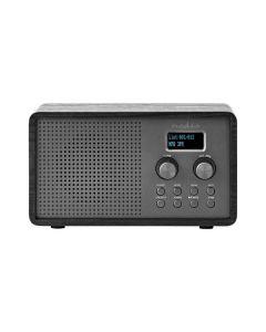 Nedis RDDB5110BK - DAB+ FM Radiowecker - schwarz-grau - produkt
