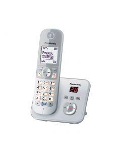 Panasonic Schnurlostelefon KX-TG6811GS mit Anrufbeantworter silber