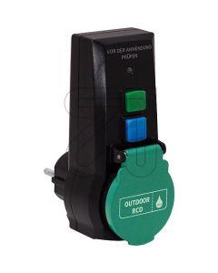 Personenschutz-Adapter 230V-16/0,03A schwarz - produkt
