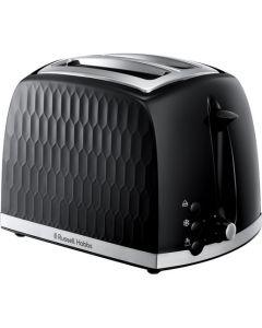 Russell Hobbs Honeycomb 26061-56 - Zweischlitz-Toaster - schwarz