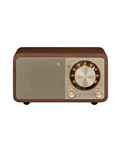 Sangean Genuine mini WR-7 - tragbares Retro-Tischradio mit Bluetooth - walnuss - produkt