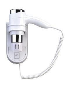 Siku Haartrockner OB 101 mit Wandhalter - Hotelhaarfön - weiß - produkt