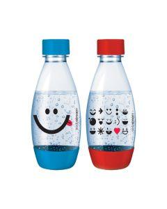 SodaStream PET-Flasche Duopack 0,5 Liter - Kids Edition - 2er Pack